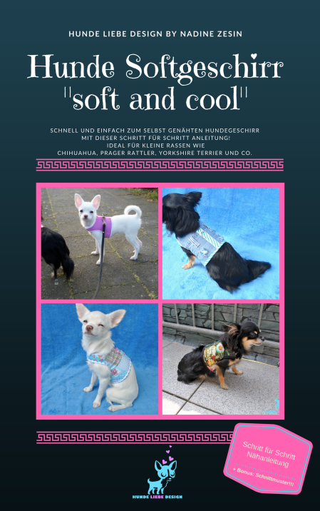 "Hunde Softgeschirr ""soft and cool"" – HUNDE LIEBE DESIGN"