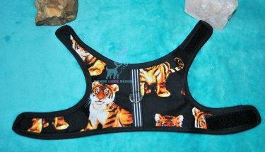 Hunde Softgeschirr Schwarz Tiger